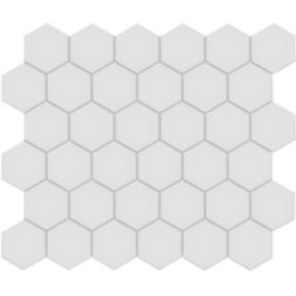 "Gallery Grey 2"" Hexagon"