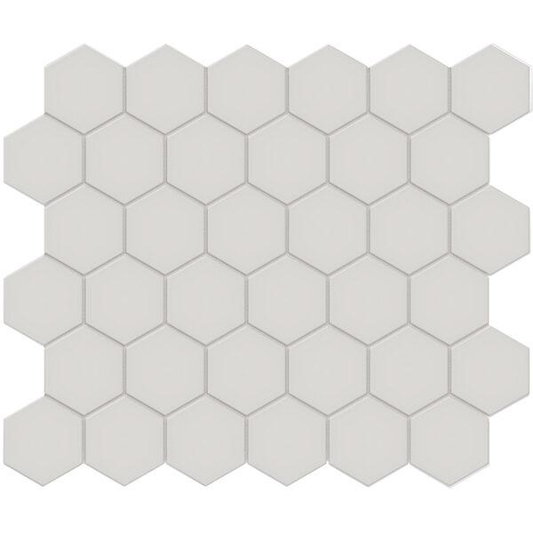 "Halo Grey 2"" Hexagon"