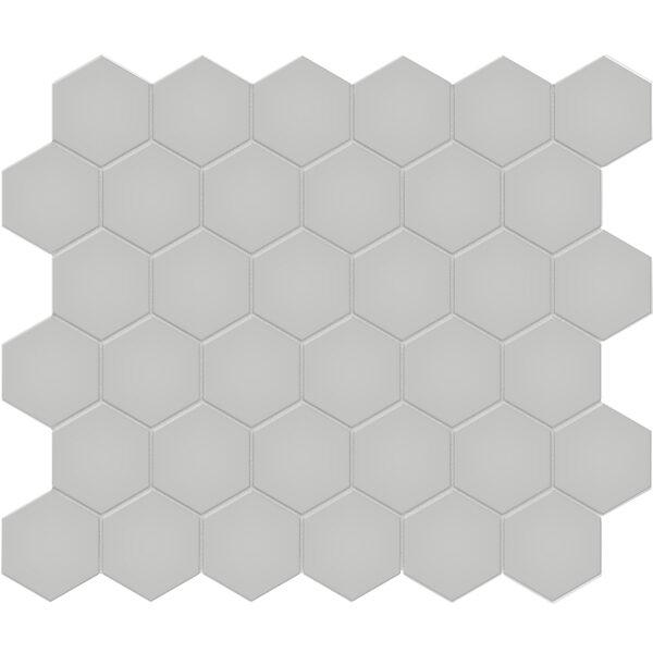 "Loft Grey 2"" Hexagon"
