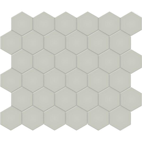 """Soft Sage 2"""" Hexagon"""