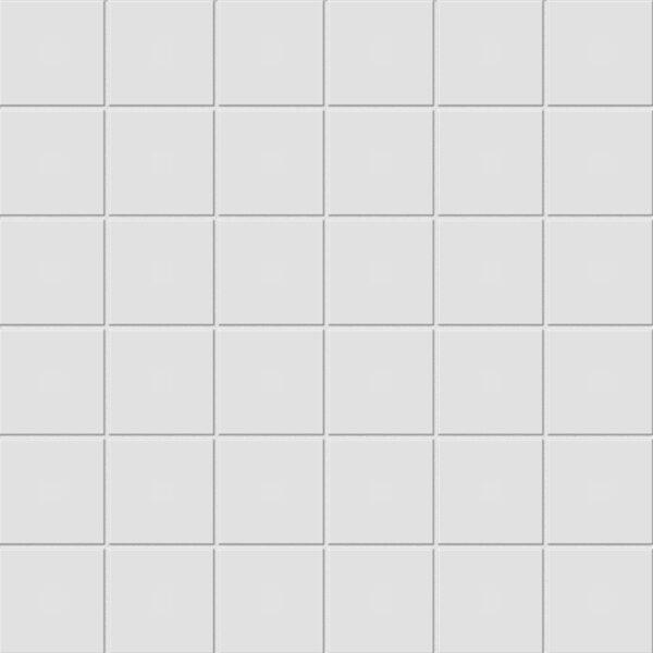 """Gallery Grey 2"""" x 2"""" Unglazed Mosaic"""