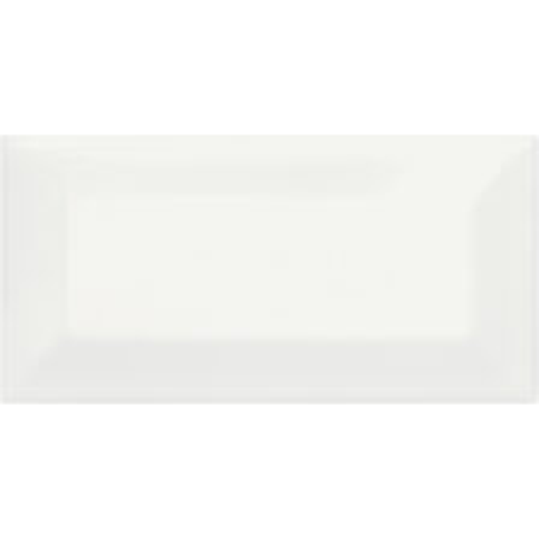 Canvas White Beveled