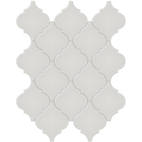 Halo Grey Arabesque Mosaic