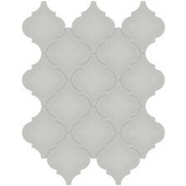 Loft Grey Arabesque Mosaic