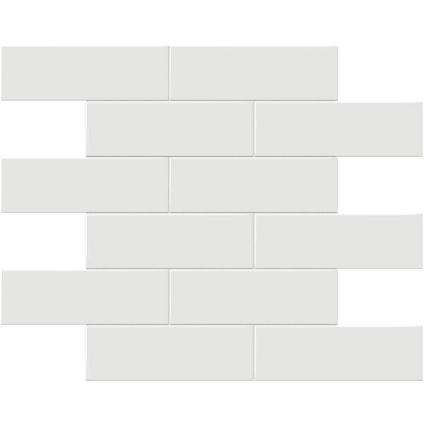 "Vintage Grey 2"" x 6"" Brick Mosaic"