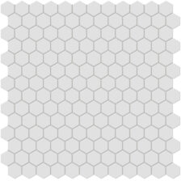 "Gallery Grey 1"" Hexagon Mosaic"