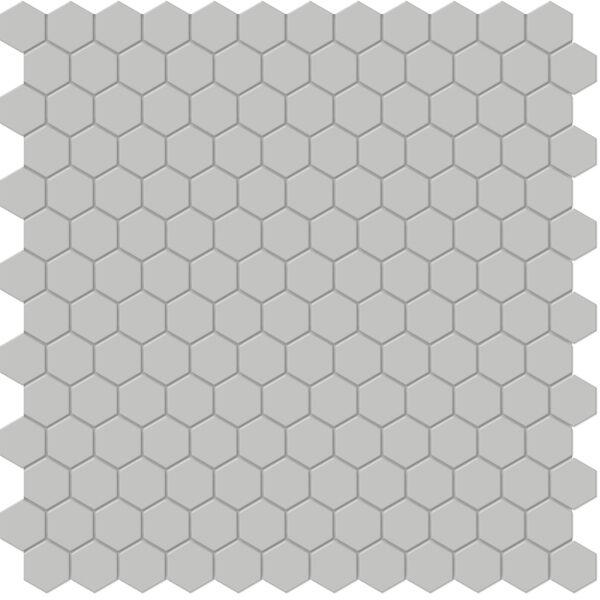"Loft Grey 1"" Hexagon Mosaic"