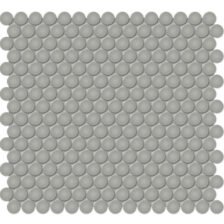 """Cement Chic 3/4"""" Penny Round Mosaic"""