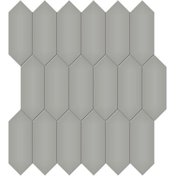 "Cement Chic 2"" x 5"" Picket Mosaic"