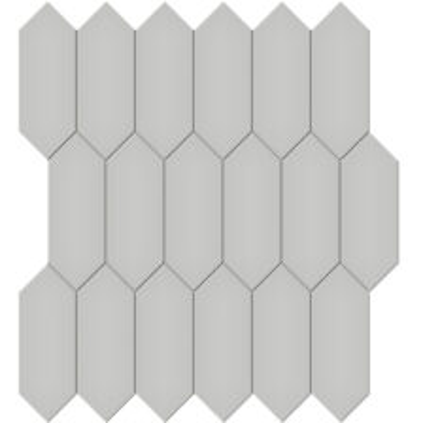 "Loft Grey 2"" x 5"" Picket Mosaic"