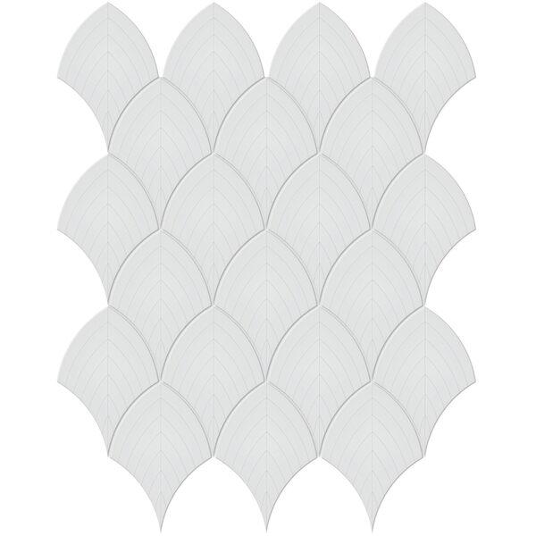 Gallery Grey Scallop Mosaic