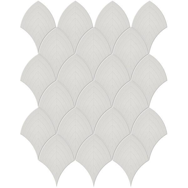 Halo Grey Scallop Mosaic
