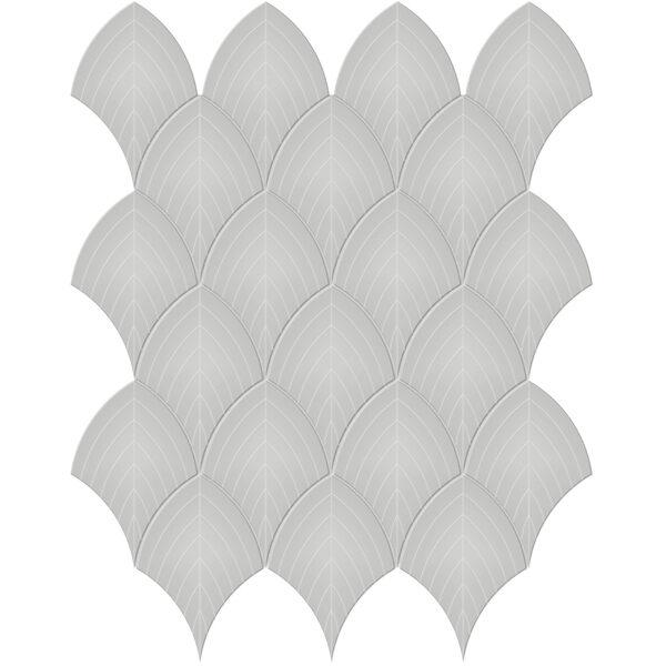 Loft Grey Scallop Mosaic