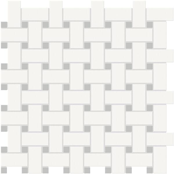 Canvas w/ Loft Basketweave Mosaic
