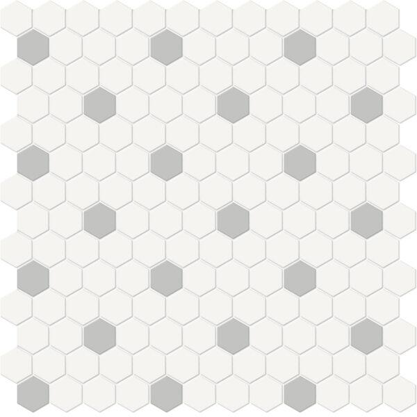 Canvas w/ Loft Hexagon Mosaic