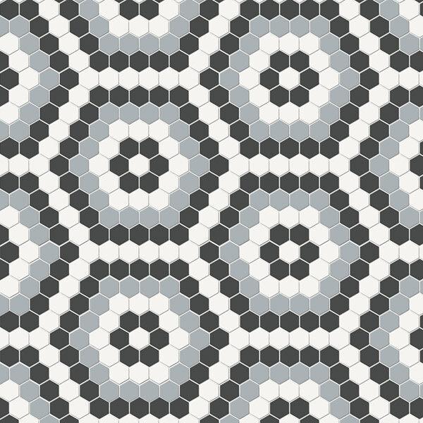 Hexagon Dawn Blend Mosaic