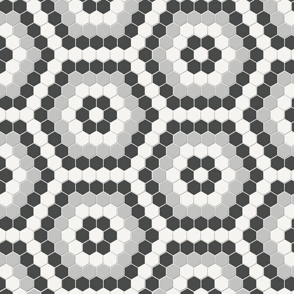 Hexagon Midnight Blend Mosaic