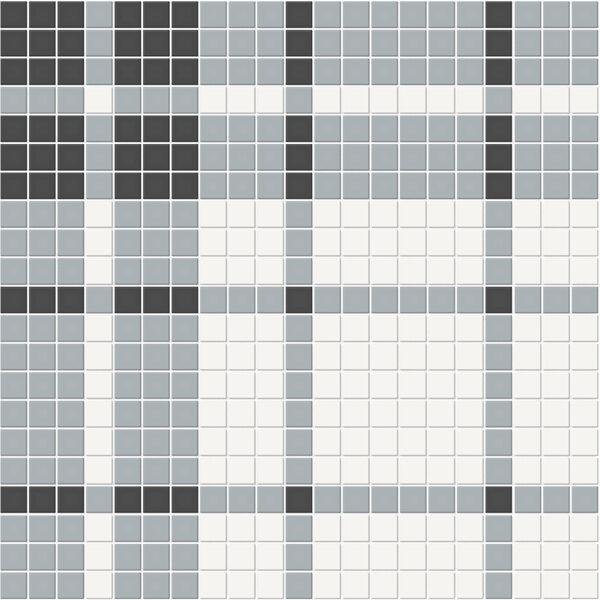 Plaid Dawn Blend Mosaic