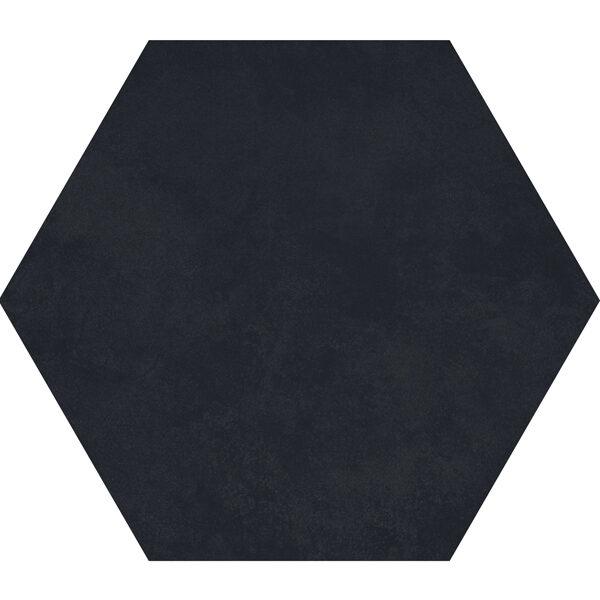 Charcoal Hexagon