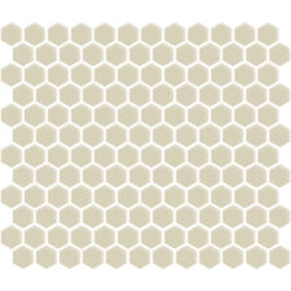 """Biscuit Gloss 1"""" Hexagon"""