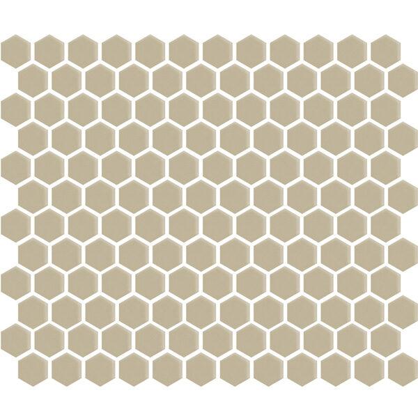 """Sand Gloss 1"""" Hexagon"""